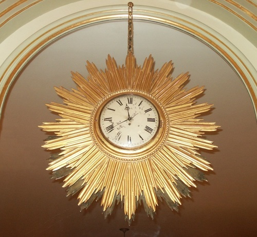 1999.138 Sunburst Wall Clock.jpg