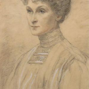 Portrait of Miss Ellen Mason