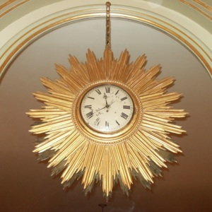 1999.138 Sunburst Wall Clock.jpg