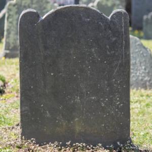 Phoebe Arnold Belcher Cemetery Stone